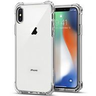 ANTI SHOCK REINFORCED CORNERS ULTRA CLEAR SOFT COVER CASE