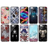 ASSORTED GRAPHIC DESIGNS GLOSSY FINISH HARD COVER CASE