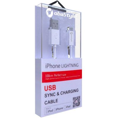 APPLE MFi-CERTIFIED LIGHTNING TO USB DATA SYNC CHARGING CABLE