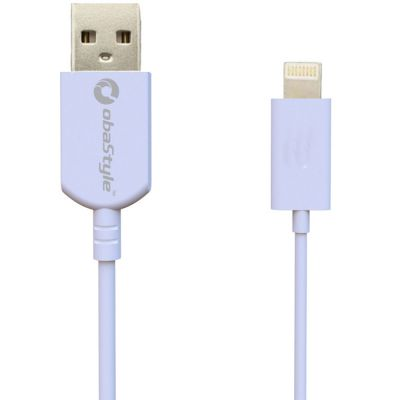 CAVO RICARICA E DATI USB 100CM CONNETTORE APPLE LIGHTNING 8 PIN 2.1A