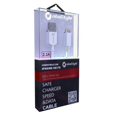 250CM APPLE LIGHTNING 8 PIN 2.4A USB DATA SYNC CHARGING CABLE