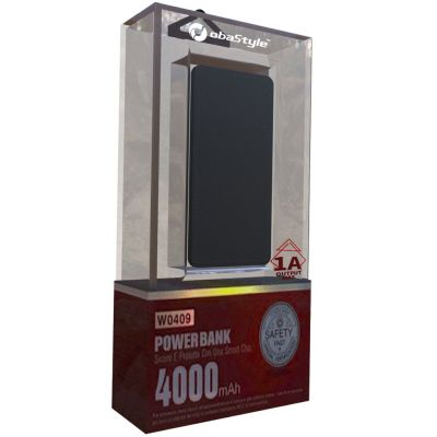 EXTRA SLIM POWER BANK 4000mAh
