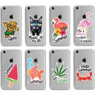SUMMER STICKERS Soft Cover Case