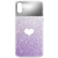 GLITTER CHROME-PLATED HARD COVER CASE
