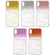 "GLITTER PRINT ""I LOVE YOU"" SEMI HARD COVER CASE"