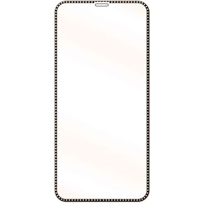 3D HARD TEMPERED GLASS WITH GLITTER