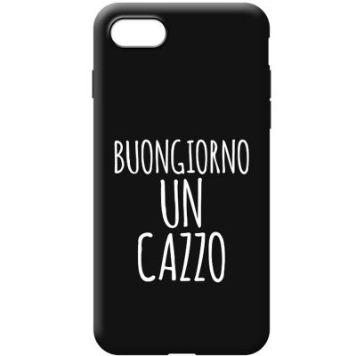 MATTE FINISH SOFT COVER CASE WITH LIFESTYLE SENTENCE