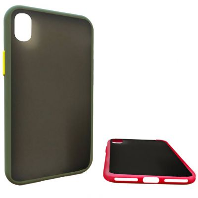 COLOURED SOFT TOUCH EDGES SEMIHARD COVER CASE