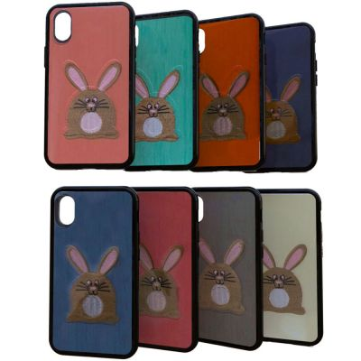 SEMI HARD COVER WITH FABRIC COATING WITH RABBIT
