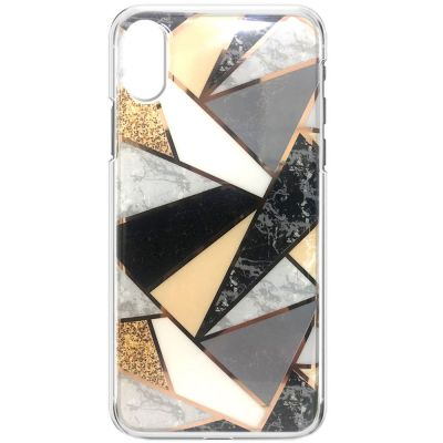 MARBLE PRINT EFFECT SOFT COVER CASE