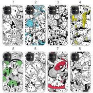 DOODLE INVASION Soft cover case