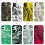 CRUMPLED TEXTURES Soft cover case