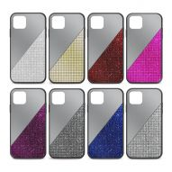 MIRRORED GLITTERED HARD COVER CASE
