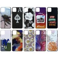 ASSORTED GRAPHIC DESIGNS CLEAR FINISH HARD COVER CASE