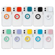 SOFT CLEAR COVER CASE WITH LENS PROTECTION AND INTEGRATED RING SUPPORT