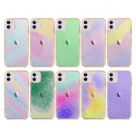 CHROME-PLATED ABSTRACT DESIGN HARD COVER CASE