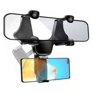 REARVIEW MIRROR CAR MOUNT PHONE HOLDER