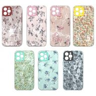 DOUBLE LAYER AND LACEWORK HARD COVER CASE